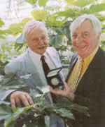 David Attenborough and Christpoher Parsons
