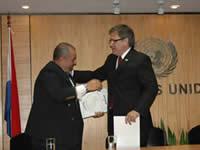 Alberto Yanosky and Carlos Antonio Lopez-Doze