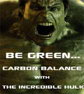 Carbon Balance with The Incredible Hulk