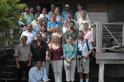 The symposium participants