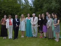 WLT staff with Sir David Attenborough