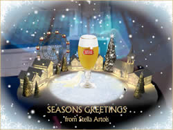 Send a card, save a tree, with Stella Artois