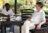 Yaya Ouattara and Jan Kamastra