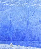 Polar Bears and Blue Ice