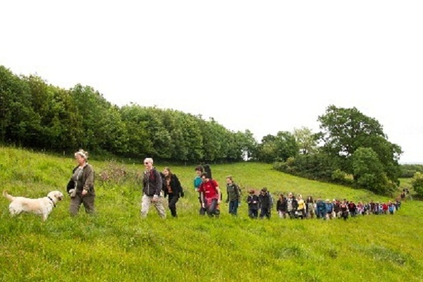 The Ancestor's Trail fundraising walk