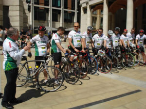 CBRE Charity Bike Ride