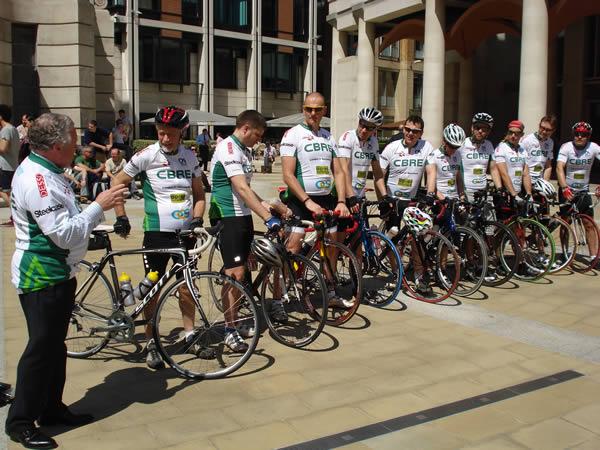 CBRE Charity Bike Ride