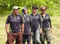 HUTAN field staff