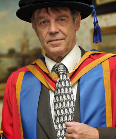 An Honorary Doctorate for John Burton