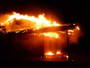 Arson attack on Guyra Paraguay building