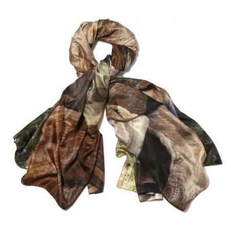 Lily and Lionel's Emily Bronze scarf, looped