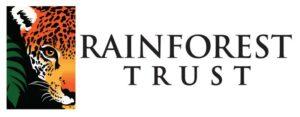 Rainforest Trust logo.