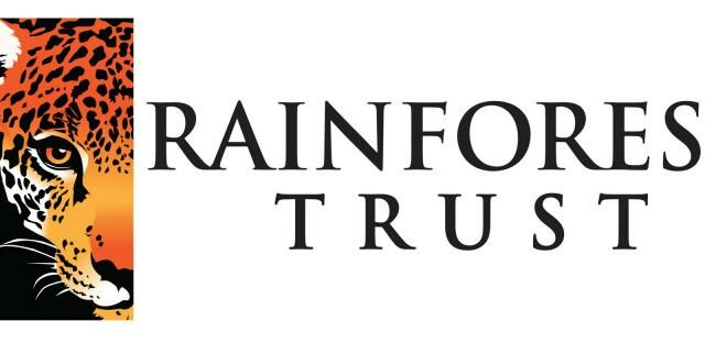 Rainforest Trust logo.