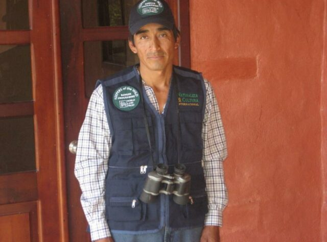 José Acaro in his ranger uniform. © NCI.
