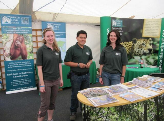 Group photo taken at Birdfair 2013.