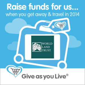 Give as you Live travel logo
