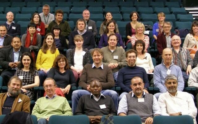 Group photo of symposium participants.