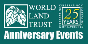 WLT 25th Anniversary Events logo.