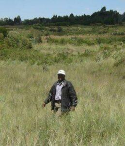Andrew Mwangi Waweru in Kinangop.