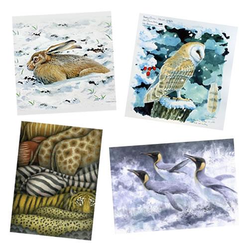 World Land Trust seasonal greeting cards