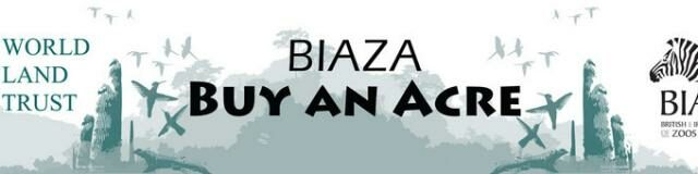 BIAZA Buy an Acre banner.