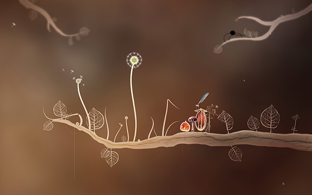Still from the computer game, Botanicula.