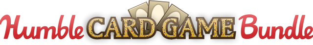 Humble Bundle card games logo.