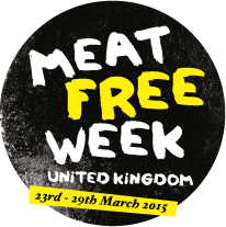 Meat Free Week logo.