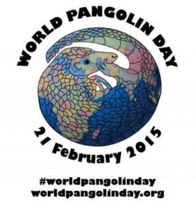 World Pangolin Day logo.