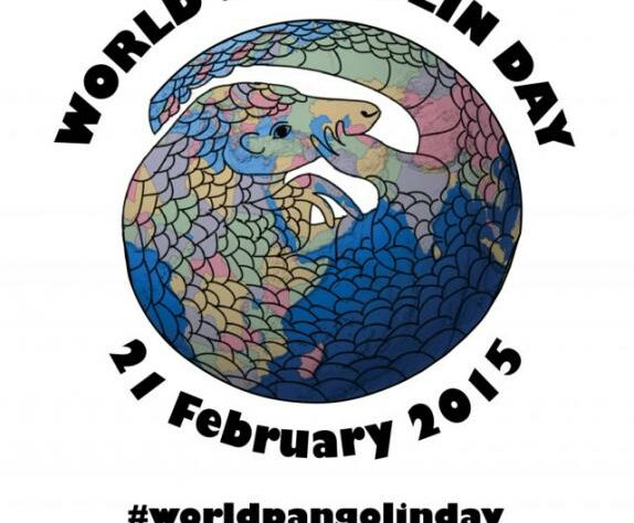 World Pangolin Day logo.