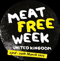 Meat Free Week logo.