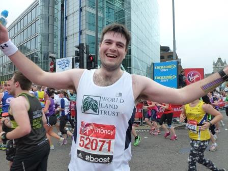 Hedd Thomas London Marathon