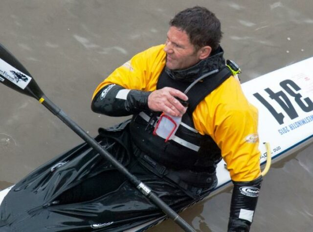 Steve Backshall at Westminster.