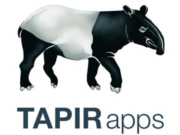 Tapir Apps logo.