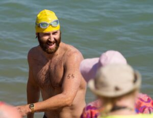 Henry Teare, World Land Trust Fundraiser Channel Swim