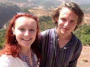 Blake Perkins and Vanessa Graham