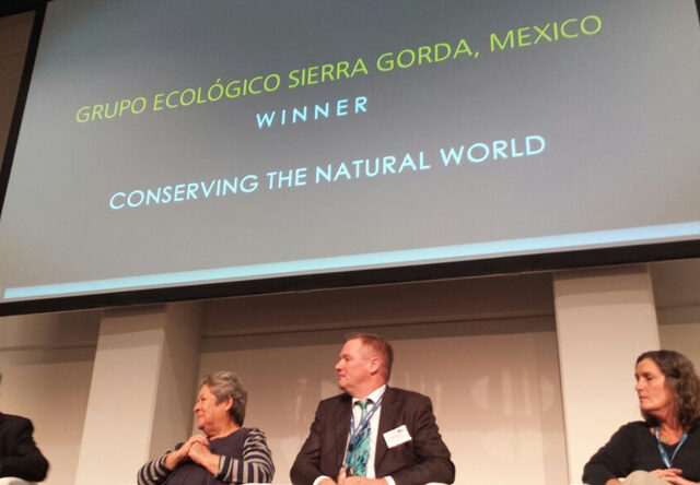 National Geographic's World Legacy Award Ceremony.