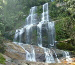 Waterfall at REGUA.