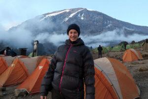 Helen Cox and Kilimanjaro