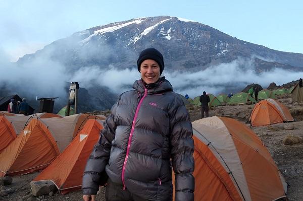 Helen Cox Kilimanjaro