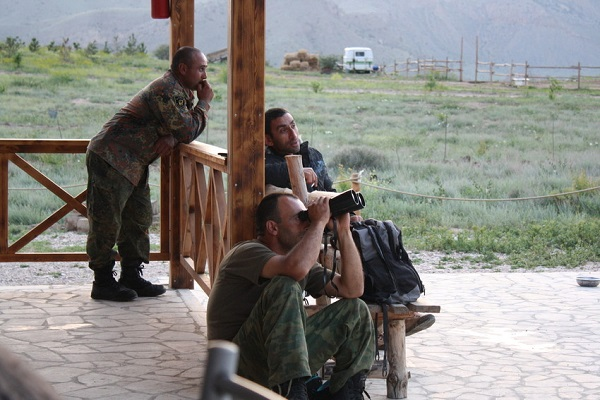 Armenia rangers in the Caucasus