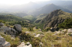Mountains and valleys of highland Armenia. credit Foundation for the Preservation of Wildlife and Cultural Assets / FPWC