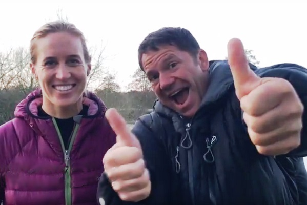 Steve and Helen Backshall
