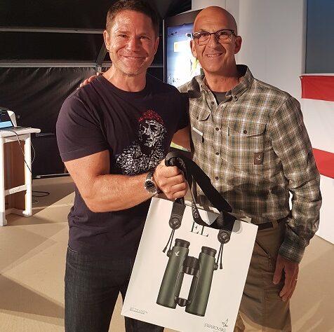 Peter Antoniou and Steve Backshall
