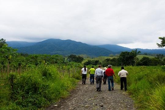 FUNDAECO field visit to Sierra Santa Cruz, Caribbean Guatemala