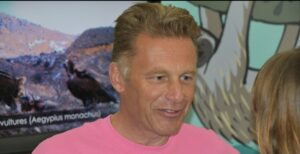 Chris Packham at Birdfair 2016 credit D Bradbury/WLT