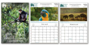 WLT Endangered Species Calendar 2018