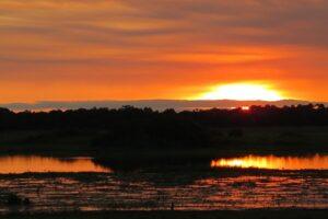 Sunset over Barba Azul