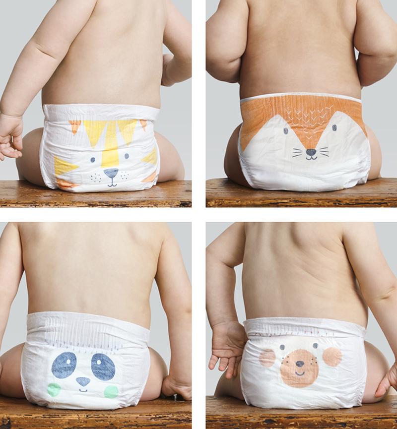 Kit & Kin nappy designs