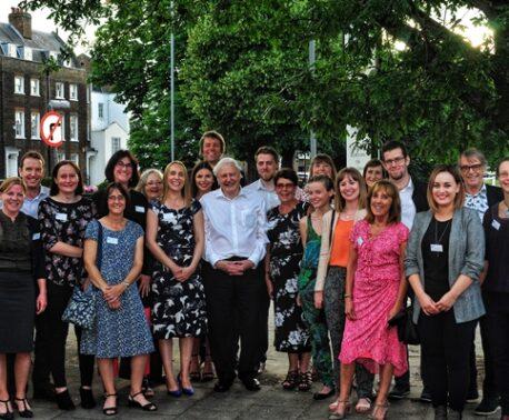 Sir David Attenborough and World Land Trust staff
